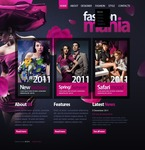 Fashion PSD  Template 56916