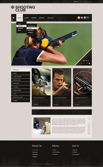 PSD макет сайта №56917