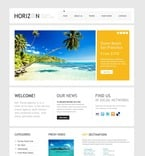 Travel PSD  Template 56921