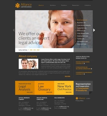 ADOBE Photoshop Template 56922 Home Page Screenshot