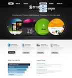 Web design PSD  Template 56928