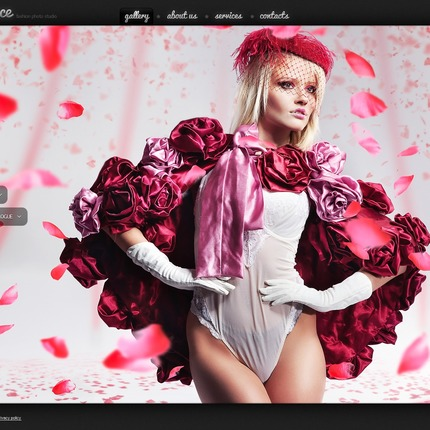 ADOBE Photoshop Template 56930 Home Page Screenshot