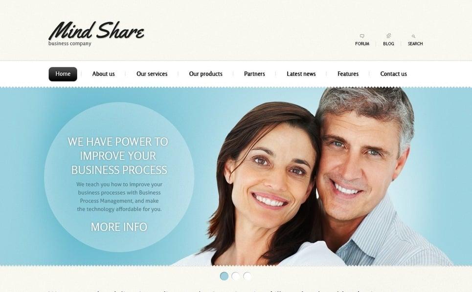 Template Photoshop  para Sites de Negócios e Prestadores de Serviços  №56933 New Screenshots BIG