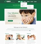 Charity PSD  Template 56934