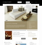 Hotels PSD  Template 56939