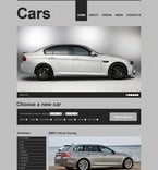 Cars PSD  Template 56941