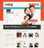 Dating PSD  Template 56942