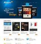 Web design PSD  Template 56950