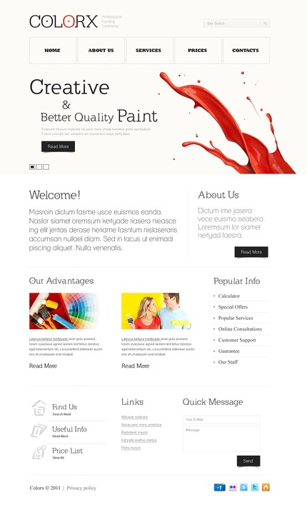 Website Template #56952