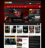 Games PSD  Template 56960