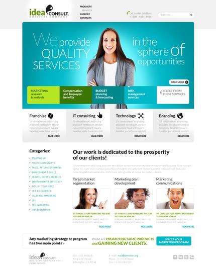 Website Template #56962