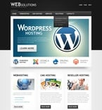 Web Hosting PSD  Template 56977
