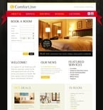 Hotels PSD  Template 56981