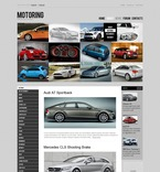 Cars PSD  Template 56982