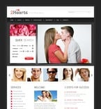 Dating PSD  Template 56991
