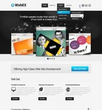 Web design PSD  Template 56993
