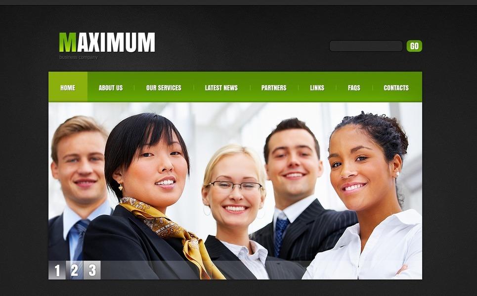 İş ve Hizmetler Psd Şablon New Screenshots BIG