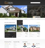Real Estate PSD  Template 56997
