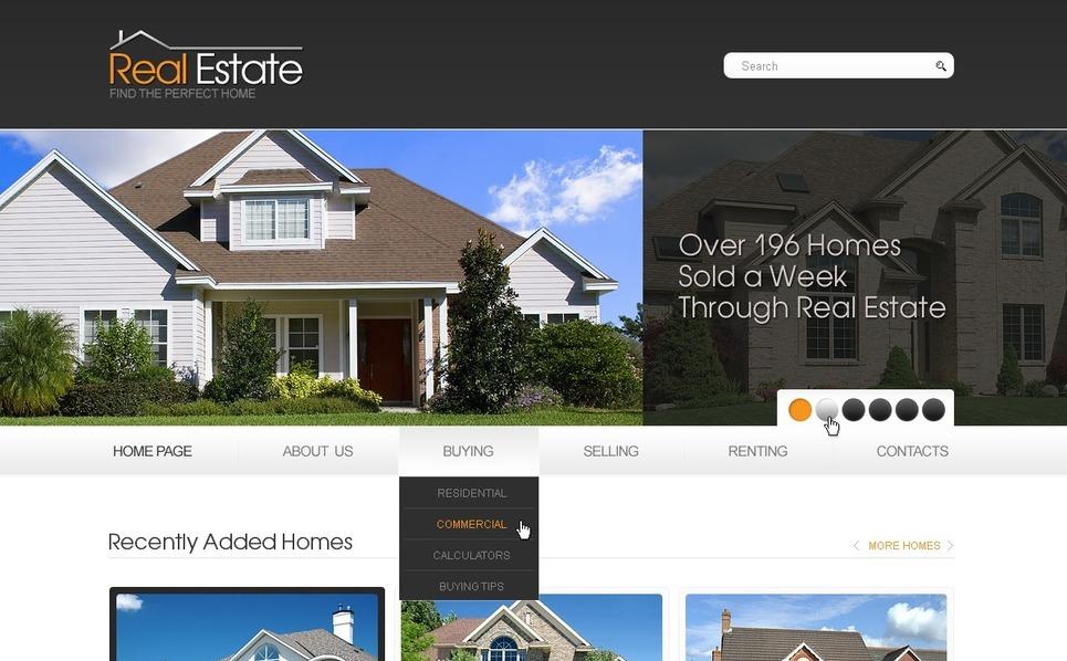 PSD шаблон №56997 на тему недвижимость New Screenshots BIG