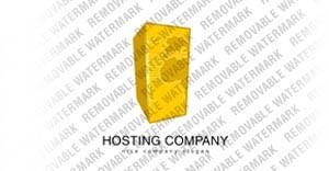 Hosting Logo Template vlogo