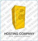 Web Hosting Logo  Template 5721