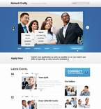 Politics PSD  Template 57008