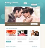 Wedding PSD  Template 57009