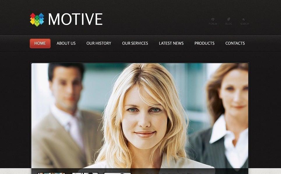 Szablon PSD #57011 na temat: biznes i usługi New Screenshots BIG
