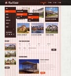 Real Estate PSD  Template 57012