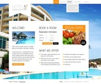 Hotels PSD  Template 57014