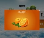 Web design PSD  Template 57017