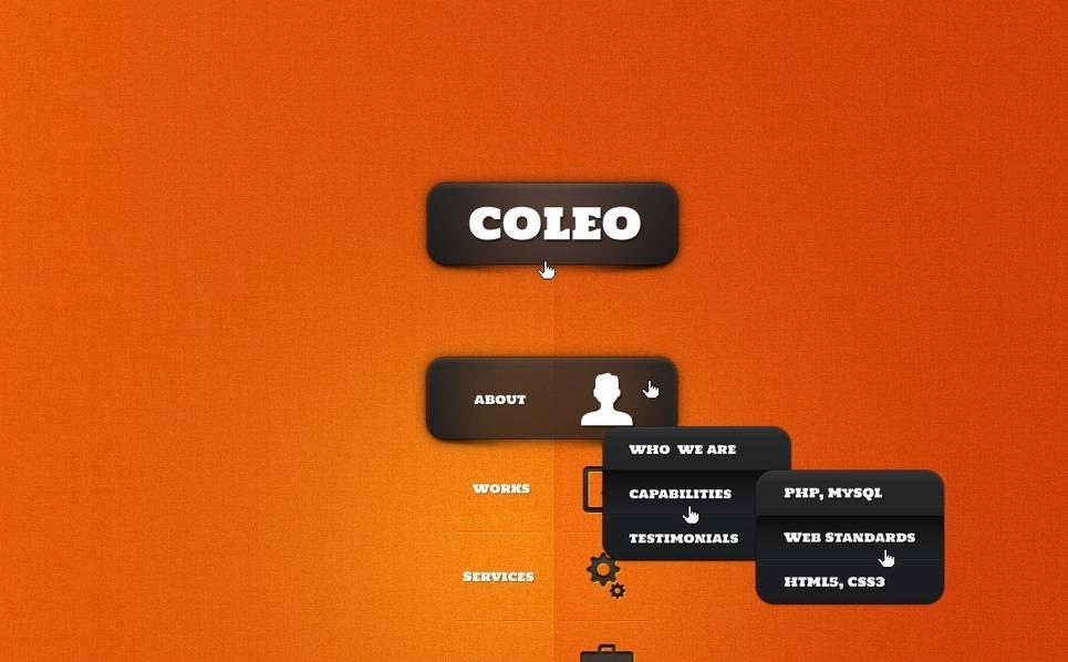 PSD šablona Portfolio designera New Screenshots BIG