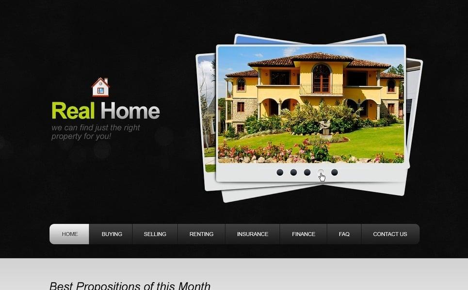 Template Photoshop  para Sites de Agencia imobiliária №57021 New Screenshots BIG