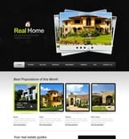 Real Estate PSD  Template 57021