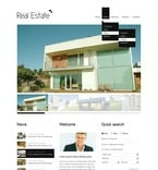 Real Estate PSD  Template 57022