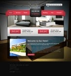 Hotels PSD  Template 57024