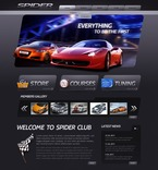 Cars PSD  Template 57026