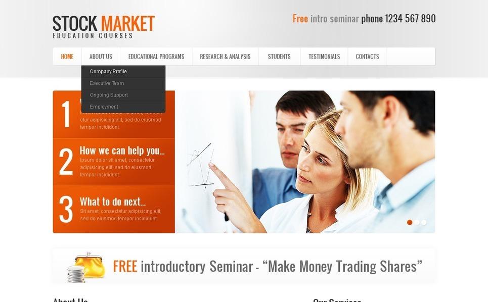 PSD Vorlage für Wirtschaftshochschule  New Screenshots BIG
