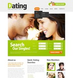 Dating PSD  Template 57038