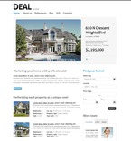Real Estate PSD  Template 57039