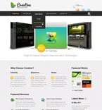 Web design PSD  Template 57040