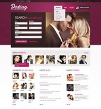 Dating PSD  Template 57042