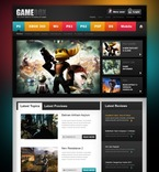 Games PSD  Template 57046