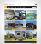 Real Estate PSD  Template 57048