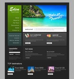 Travel PSD  Template 57049