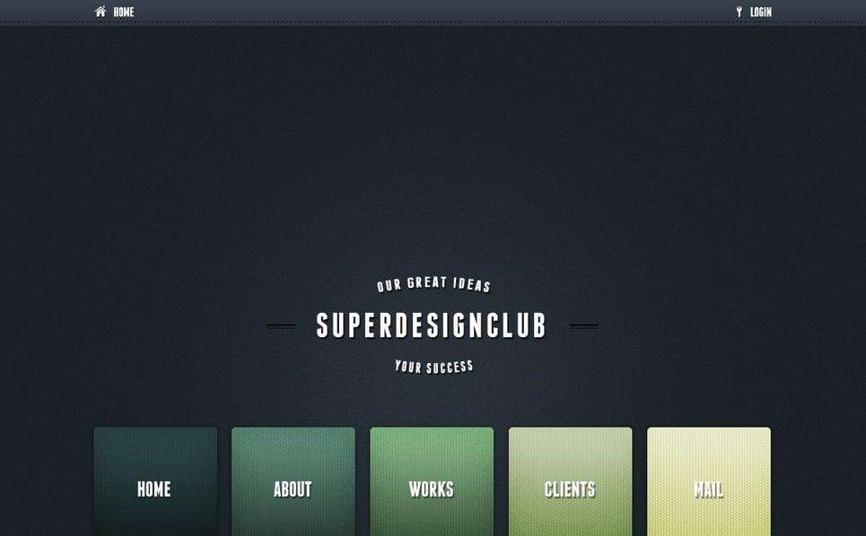 Szablon PSD #57053 na temat: web design New Screenshots BIG