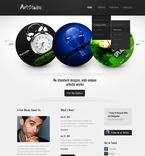 Web design PSD  Template 57058