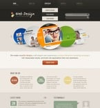 Web design PSD  Template 57061