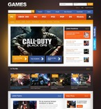 Games PSD  Template 57065