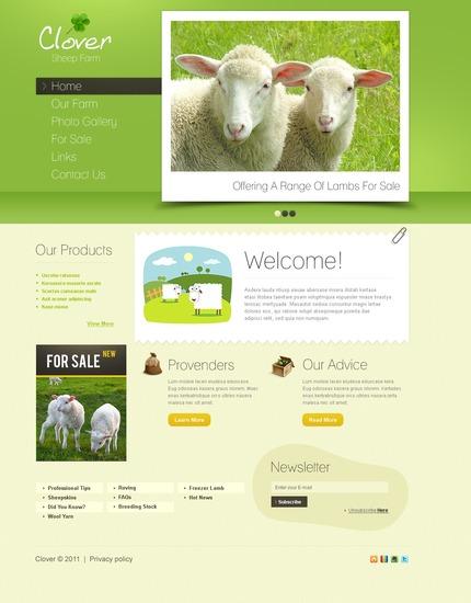 PSD макет сайта №57066